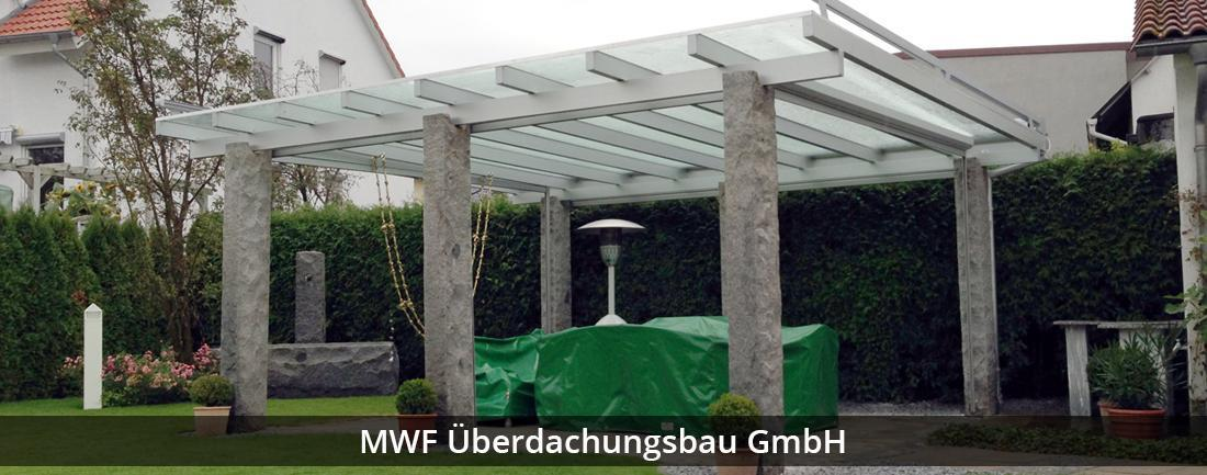 Carport Viernheim - MWF Überdachungsbau GmbH: Terrassendach, Wintergarten